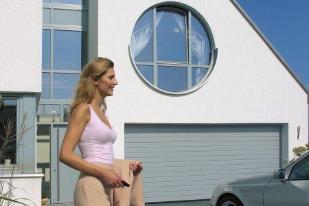 Fjernbetjening til garage port automatik
