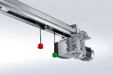 Automatisk port åbner - kraftig kædemotor til industri