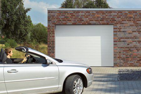 Rulleport - fylder ikke i loftsrummet i garagen